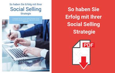 """E-BOOK: """"So haben Sie Erfolg mit Ihrer Social Selling Strategie!"""""""
