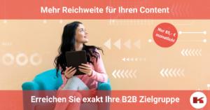 Content Marketing für B2B Zielgruppen